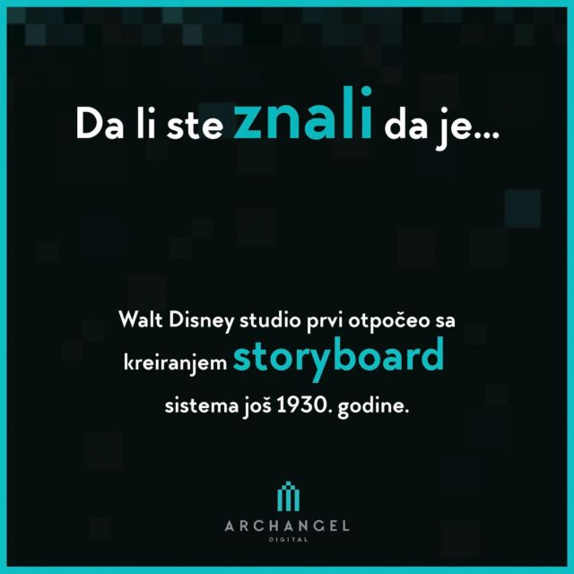 """Did you know that ...  The Walt disney studio was first that started creating a storyboard system in 1930.  Three years later, in 1933,  they presented the first real and complete storyboard for the short cartoon """" Three Little Pigs"""".  #archangeldigital #ads #dalisteznali #historyofanimation  #historyofanime #ilustration #storyboard #graphicdesign #animation #didyouknow #funfacts #facts #funfact #entertainment #filminserbia #kids #series # storyteller #arts #balkanima #director"""
