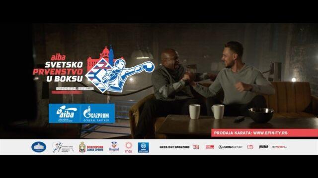 U saradnji sa @aiba_official kreirali smo i realizovali kampanju povodom Svetskog prvenstva u boksu koje će se održati od 24.oktobra do 6.novembra u Beogradu.  Ponosni smo što smo zajedno sa legendarnim @royjonesjrofficial baš mi pozvali publiku širom sveta da budu gosti Beograda!🥊💪🏼  Vidimo se na otvaranju u Štark Areni 24.oktobra.  @aiba_official  @bokserskisavez @bikovic  @royjonesjrofficial  @archangel_digital   #aiba #AIBAWCHS2021 #commercial  #advertisment #boxingcommercial  #reklama #tvc #royjonesjr #milosbikovic